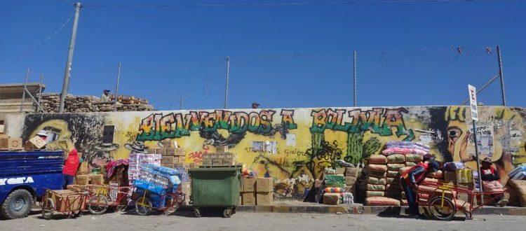 Na granicy Boliwii i Argentyny