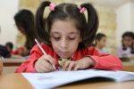 Gołąbek pokoju dla dzieci w Aleppo