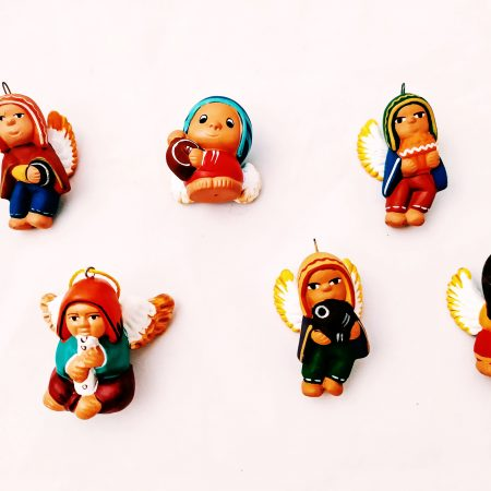 aniołki ceramiczne_peru