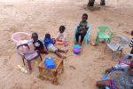 Przedszkole na piaskach Pustyni Kalahari